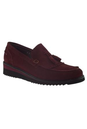 Fosco 6106 Klasik Bordo Erkek Ayakkabı