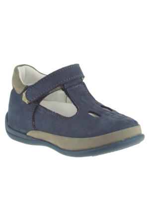 Perlina 1050 Tek Cırt Atom Comfort Lacivert Çocuk Ayakkabı