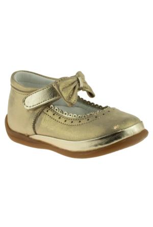 Perlina 1063 Tek Cirt Atom Comfort Altın Çocuk Ayakkabı