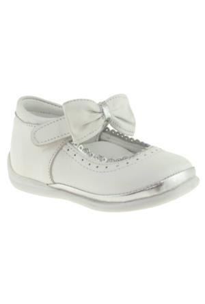 Perlina 1063 Tek Cirt Atom Comfort Beyaz Çocuk Ayakkabı