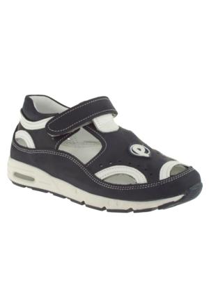 Perlina 1206 Tek Cırt Lacivert Çocuk Ayakkabı