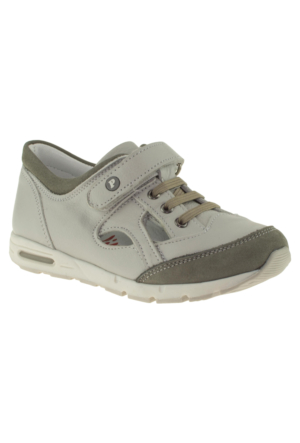 Perlina 1212 Tek Cirt Beyaz Çocuk Ayakkabı
