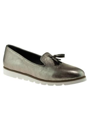 Greyder 51284 Zn Chic Casual Gümüş Kadın Ayakkabı