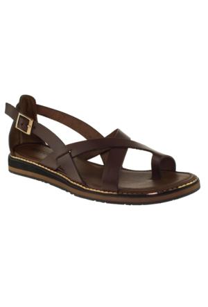 Greyder 51308 Zn Chic Casual Kahverengi Kadın Sandalet