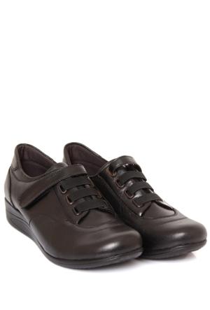 Gön Deri Kadın Ayakkabı 35246