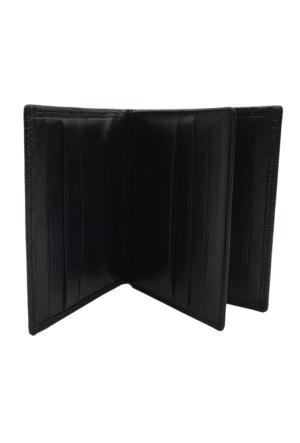 Bond 133-541 Korko Siyah Gerçek Deri Kartlık Cüzdan