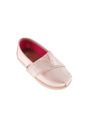 Toms Unisex Çocuk Altın Espadril Ayakkabı