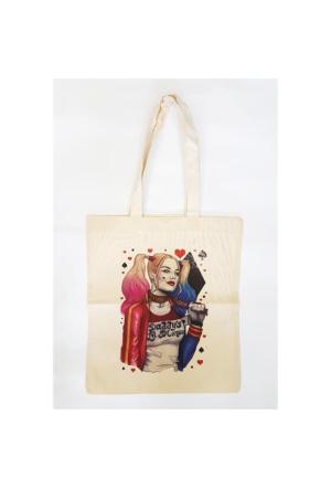 Köstebek Harley Quinn - Daddy'S Little Monster Bez Çanta