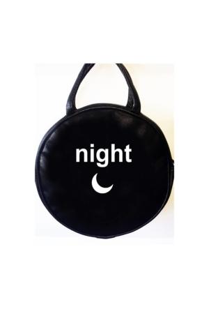 Köstebek Night Postacı Yuvarlak Çanta