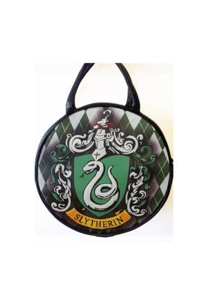 Köstebek Harry Potter - Slytherin Yuvarlak Postacı Çanta