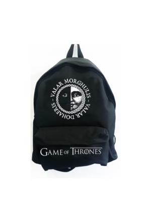 Köstebek Game Of Thrones - Valar Morghulis Sırt Çantası