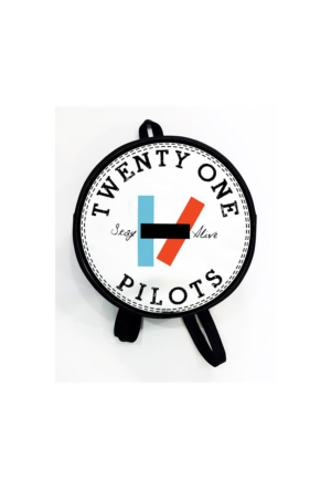 Köstebek Twenty One Pilots - Stay Alive Yuvarlak Sırt Çantası