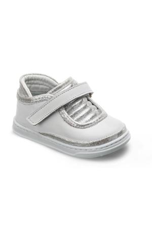 Vicco İlk Adım Deri Ayakkabı Beyaz