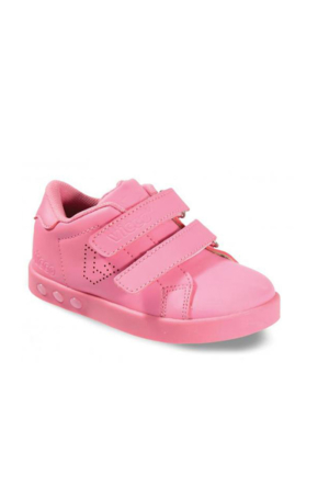Vicco Çift Cırtlı Işıklı Spor Ayakkabı Pembe