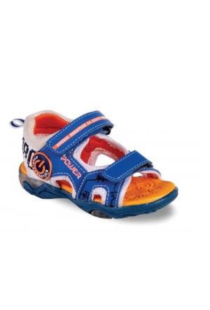 Vicco Cırtlı Işıklı Erkek Sandalet Saks Mavi