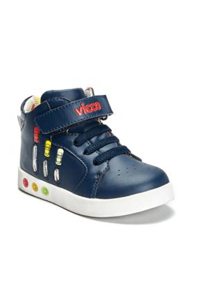 Vicco Cırtlı Işıklı Erkek Spor Ayakkabı Lacivert
