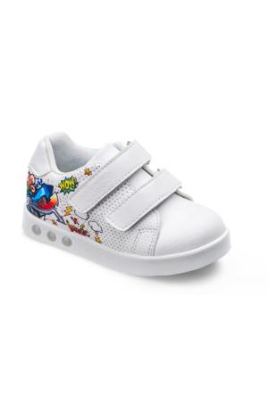 Vicco Bebe Işıklı Spor Ayakkabı Beyaz