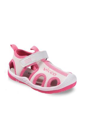 Vicco Cırtlı Kız Sandalet Pembe