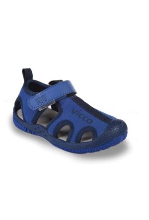 Vicco Cırtlı Erkek Sandalet Saks Mavi