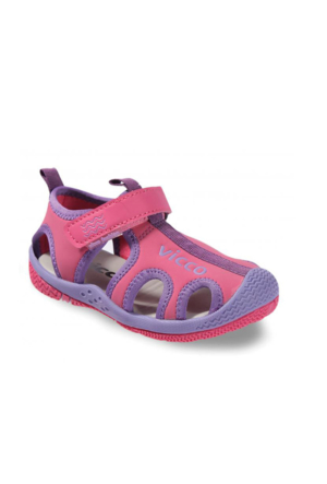 Vicco Cırtlı Kız Sandalet Fuşya