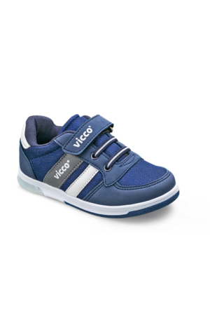 Vicco Patik Spor Ayakkabı Lacivert-Beyaz