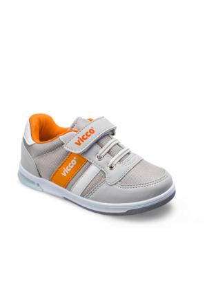 Vicco Patik Spor Ayakkabı Gri