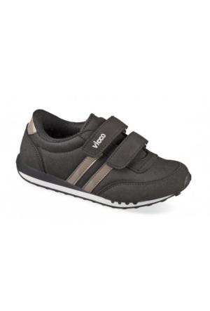 Vicco Çift Cırtlı Erkek Spor Ayakkabı Siyah