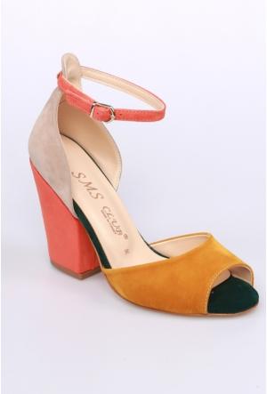 Sms Hardal Multi Kadın Ayakkabı-42112