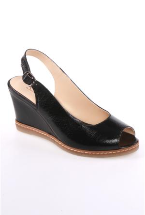 Sms Siyah Kadın Sandalet-43114