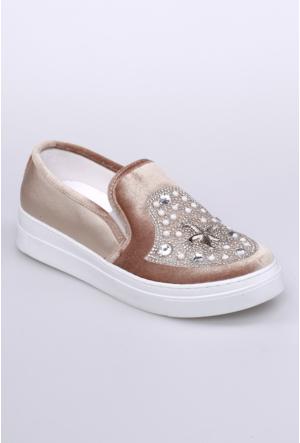 Celens Altın Kadın Ayakkabı-303