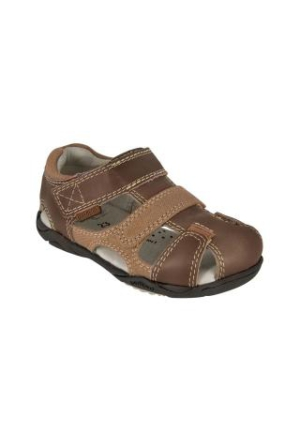 Pediped Joshua Leather Sandal Chocolate Brown Kahverengi Çocuk Ayakkabı