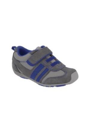 Pediped Frederick Charcoal Blue Sneaker Gri Mavi Çocuk Ayakkabı