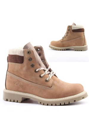 Palet Y065 %100 Deri Bay Bayan Bot Ayakkabı Kışlık Günlük