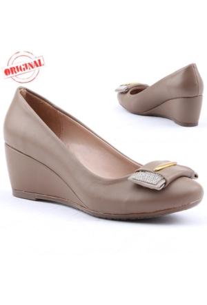 Rachel 245 Bayan Dolgu Topuk Ayakkabı 5,5 cm Günlük