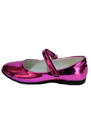 Papşin Clup 271-2053 Fuşya Atkılı Babet Kız Çocuk Ayakkabısı