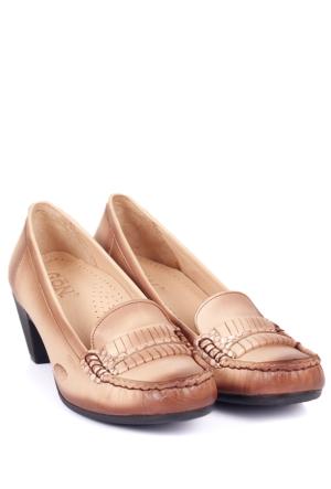 Gön Deri Kadın Ayakkabı 46363
