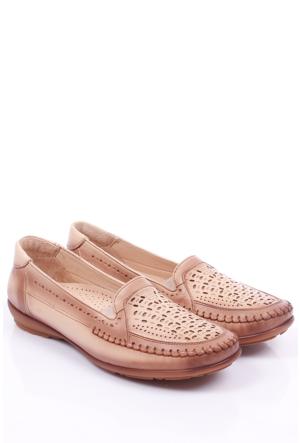 Gön Deri Kadın Ayakkabı 46530