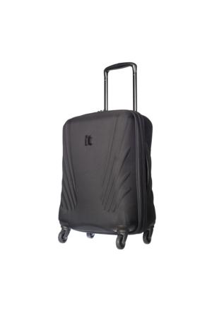 It Luggage Kumaş Kabin Boy Valiz It1031-S Siyah