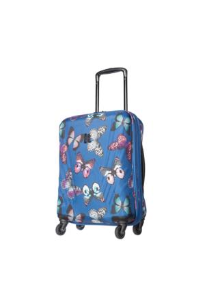 It Luggage Kumaş Kabin Boy Valiz It1031-S Lacivert