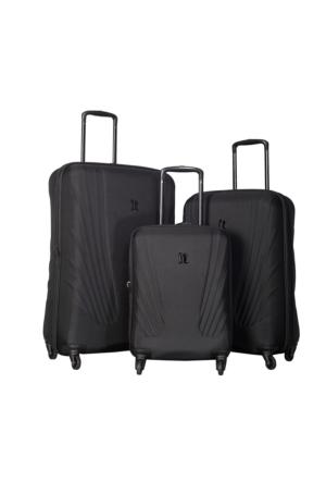It Luggage Kumaş Set It1031-Set Siyah