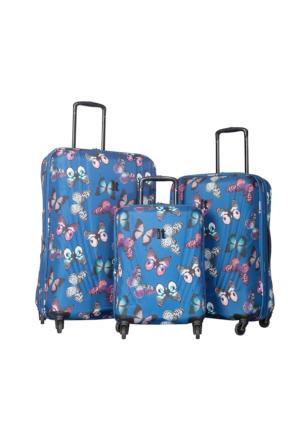 It Luggage Kumaş Set It1031-Set Lacivert