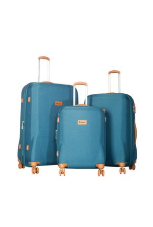 It Luggage Kumaş Set It1591-Set Mavi