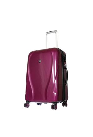 It Luggage Polycarbonate Orta Boy Valiz It1886-M Mor