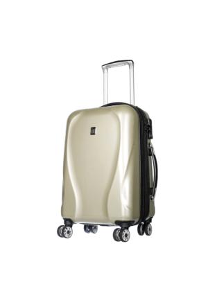 It Luggage Polycarbonate Kabin Boy Valiz It1886-S Krem