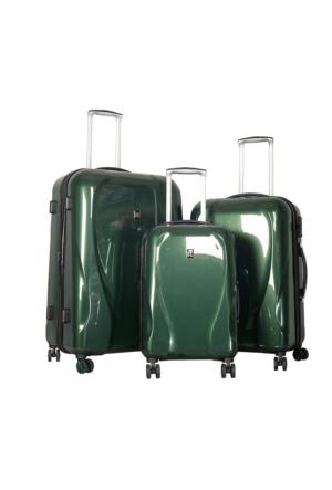 It Luggage Polycarbonate Set It1886-Set Yeşil