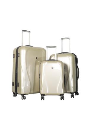 It Luggage Polycarbonate Set It1886-Set Krem