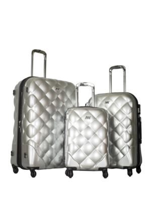 Nk Polycarbonate Set Nk025-Set Gümüş