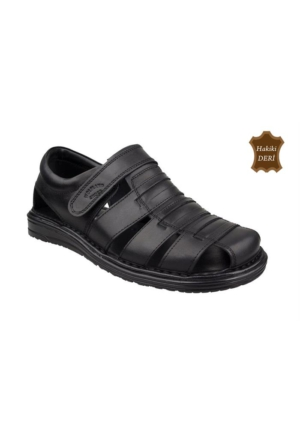 Wolfland 212 SA 32 Hakiki Deri Sandalet