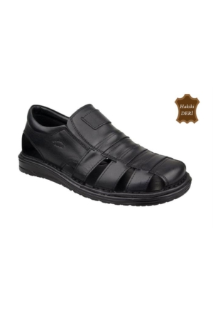 Wolfland 211 SA 32 Hakiki Deri Sandalet