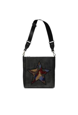 Marjin Kenla Günlük Postacı Çanta Siyah